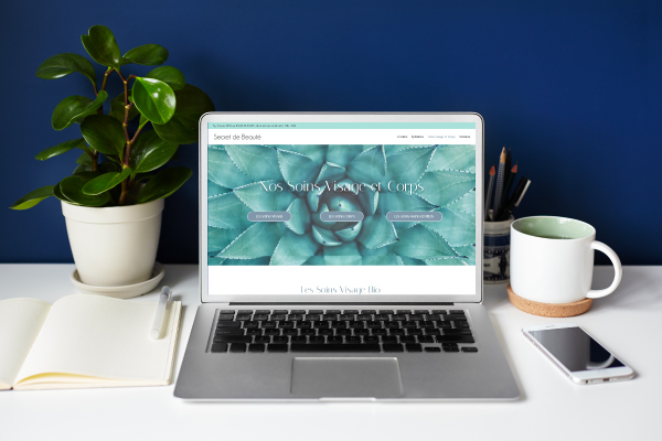 réalisation de soon digital pour création d'un site internet