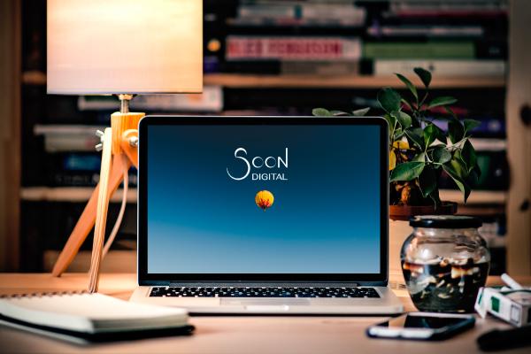 soon digital écran de site web créé sur-mesure